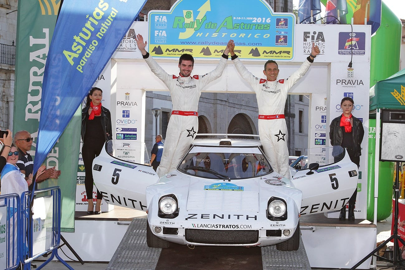 First FIA European win for the Stratos Zenith in Asturias