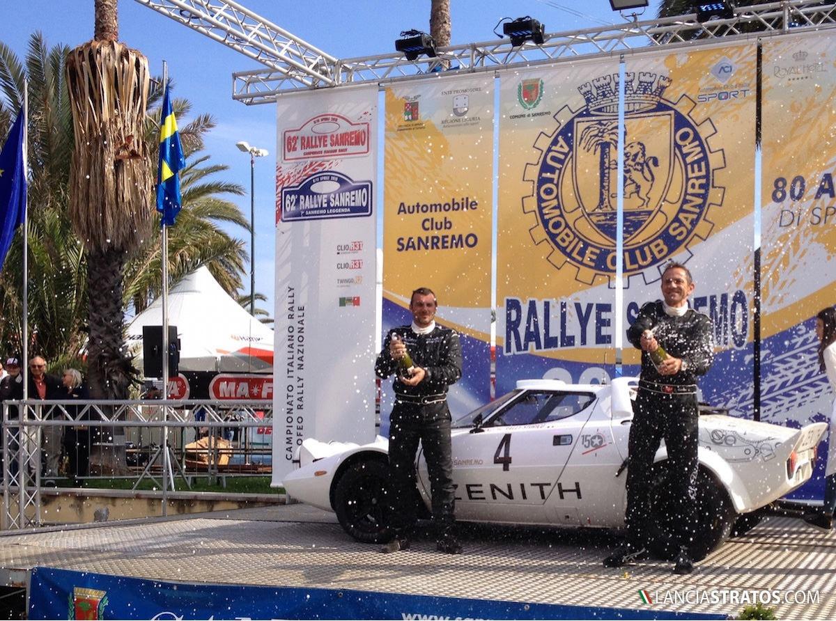 First podium for Zenith El Primero Stratos Team