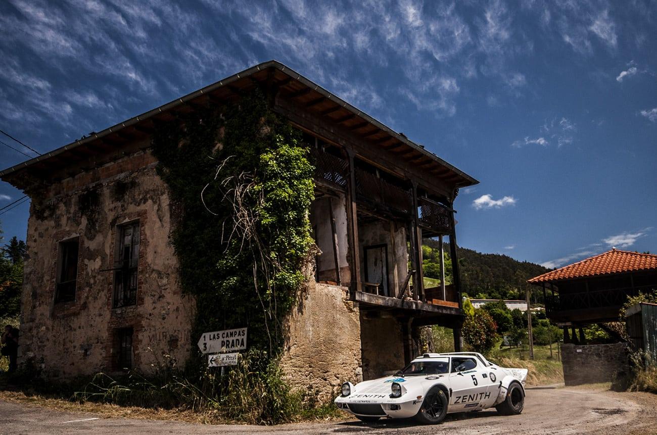 Lancia Stratos and Housing