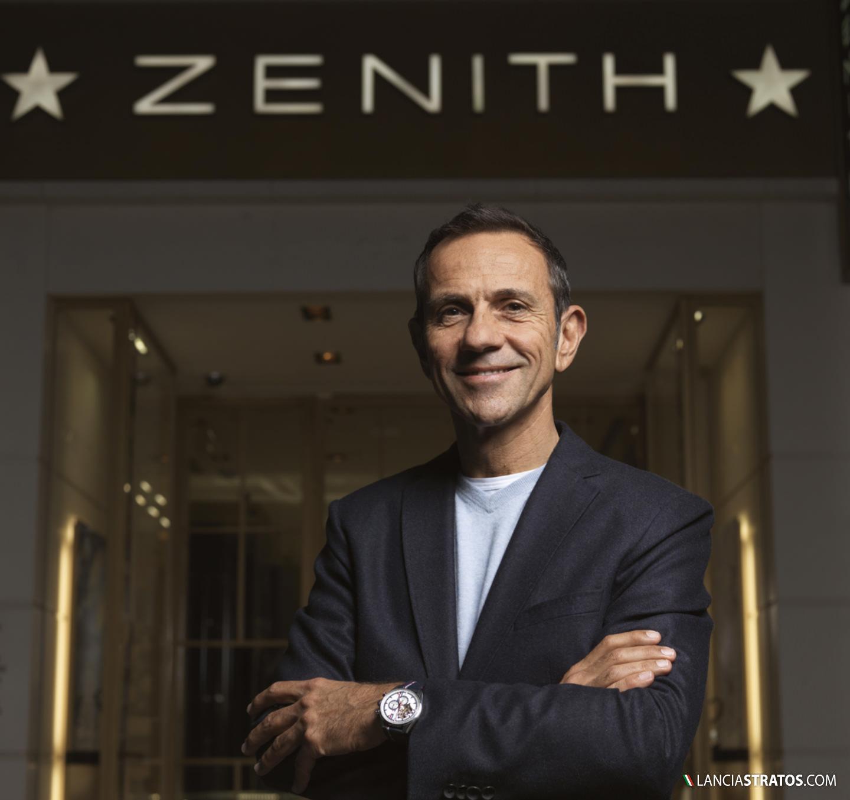 Erik Comas sponsor Zenith